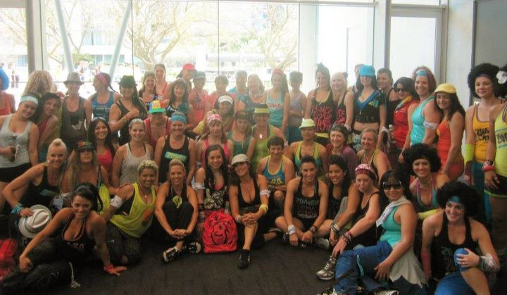 Perth Telethon World&#039;s biggest ZUMBA class!